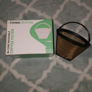 Brand new washable coffee filter (2 for 10)